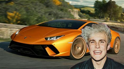 jake paul lamborghini jake paul new lamborghini 2018 youtube
