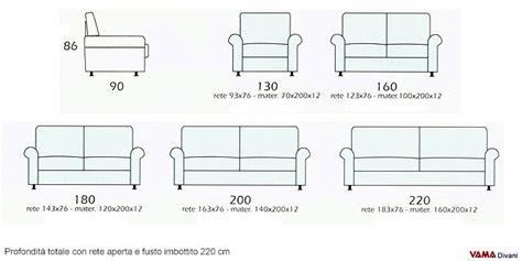 misure divani letto divano letto matrimoniale in stile tradizionale in tessuto