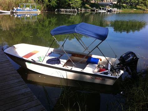 boat bimini top installation boston whaler 13 15 17 bimini top installation and review