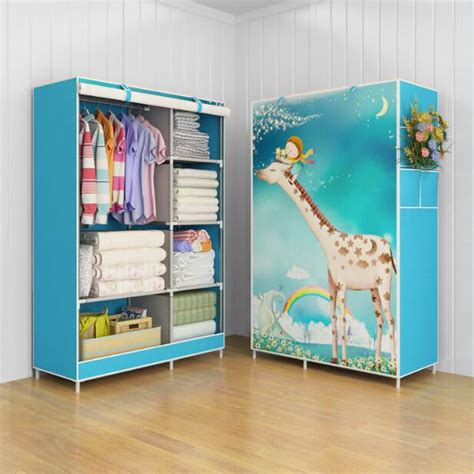Tempat Penyimpanan Baju Cloth Organizer 3 Window Storage lemari baju pakaian organizer cloth 03 giraffe multifunction wardrobe rack with cover bongkar