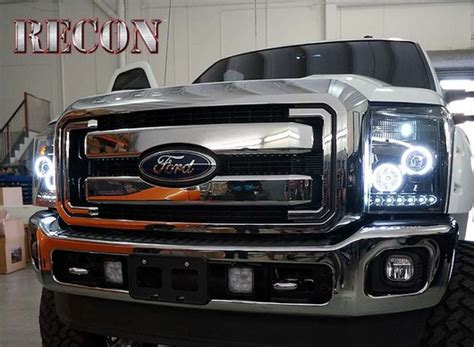 best light 2015 recon smoked projector headlights for ford superduty 2011 2015