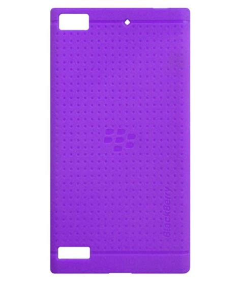 Ume Silicon Soft Blackberry Z3 acm soft silicon back for blackberry z3 cover purple buy acm soft silicon back for