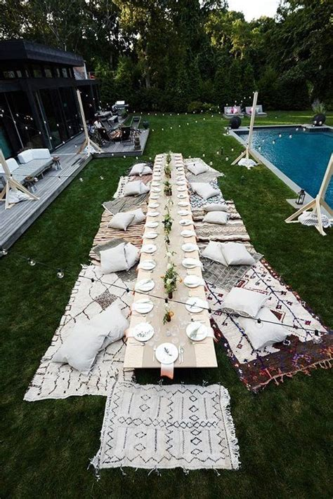 backyard party setup 1000 ideas about outdoor parties on pinterest outdoor