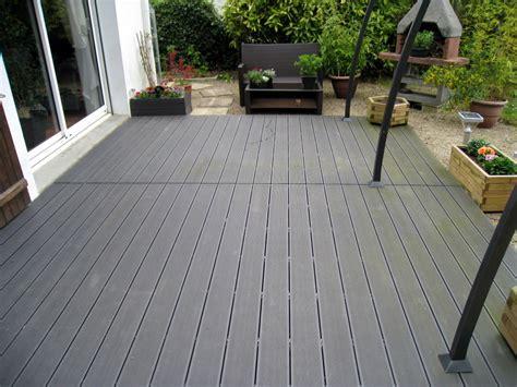 terrasse composite leroy merlin terrasse bois composite leroy merlin caillebotis poser