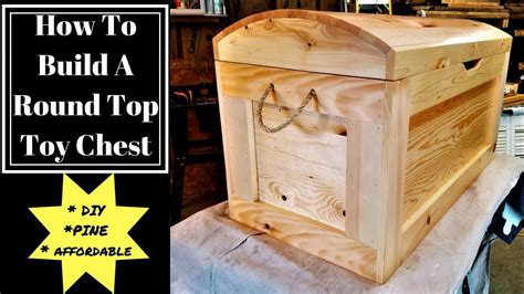 build   top toy chest diy youtube