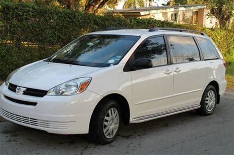 auto air conditioning repair 2004 toyota sienna parking system sell used 2004 toyota sienna ce one owner entretainment system in fort lauderdale florida