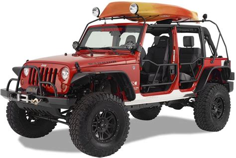 Jeep Canoe Roof Rack by Warrior Products 871 Warrior Products Safari Canoe Rack
