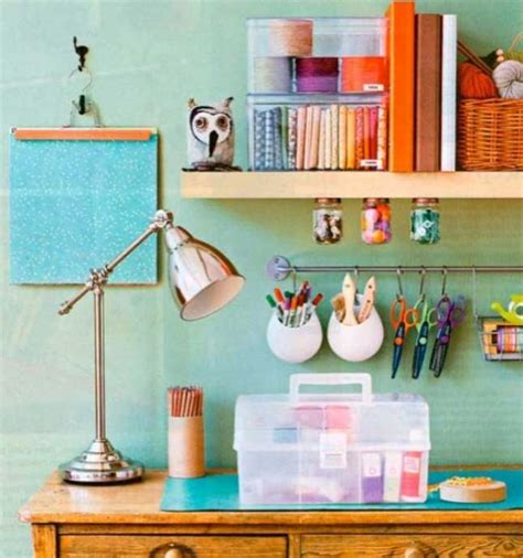 Colorful Office Supplies Best Free Home Design Idea | 18 maneiras simples de deixar a mesa de trabalho mais