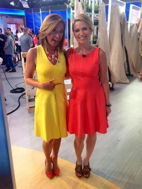 ginger hair on gma amy robach tweets quot hey sunrise ginger zee do you like