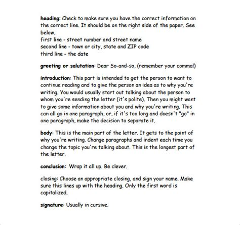 friendly letter template pdf writing a friendly letter pdf sle friendly letter