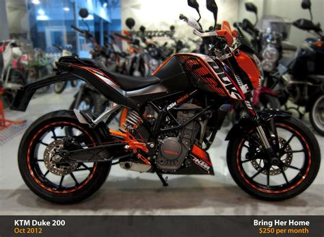 Ktm Duke 200 Orange Ktm Duke 200 Orange 2012 Used Ktm Duke 200 Orange