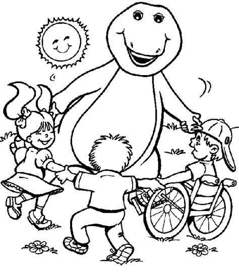 barney coloring pages for toddlers barney coloring pages coloring pages to print