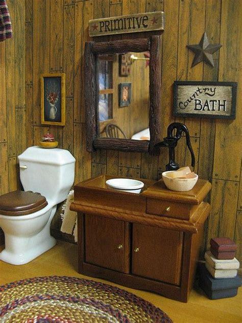 primitive bathroom ideas bathroom designs dollhouse country bath primitive country baths