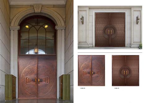 Copper Door by Copper Doors Exterior Copper Doors