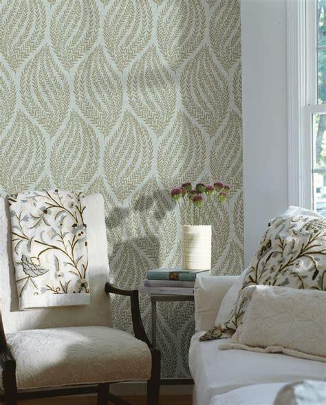 living room decor idea feature wall wallpaper contemporary