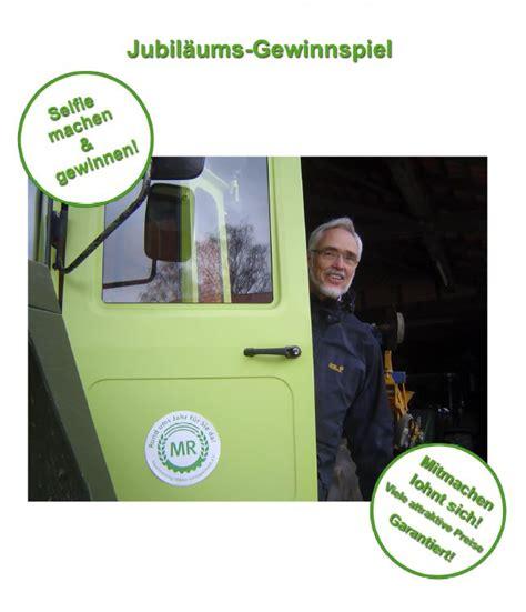 Aufkleber Maschinenring by Aktuelles Jubil 228 Ums Gewinnspiel 187 Maschinenring Velpke