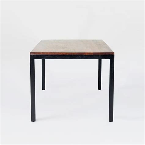 Metal And Wood Dining Table Metal Wood Dining Table West Elm