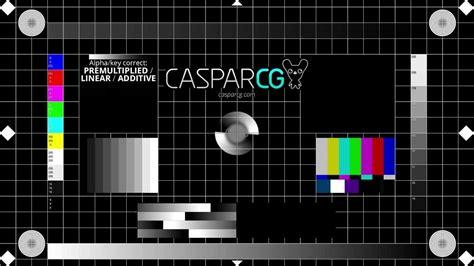youtube test pattern caspar cg television test pattern 1080p25 youtube