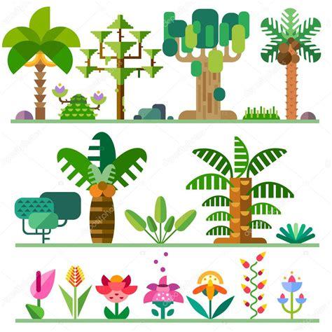 different types of trees stock vector art 635949946 istock plantas tropicales diferentes tipos de 225 rboles flores