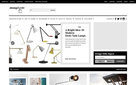 design milk similar sites 10 unexpected sources of design inspiration sitepoint