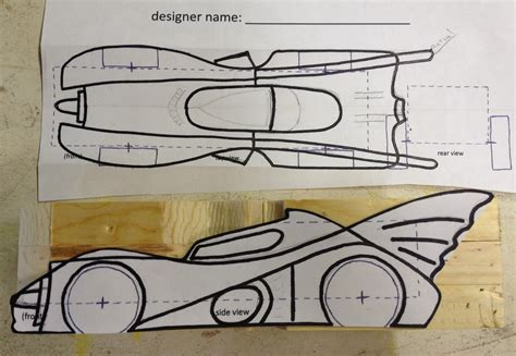 batmobile pinewood derby template how to build an awesome batmobile pinewood derby car
