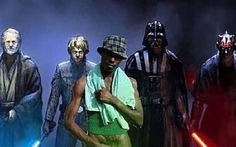 imagenes del negro john conicet polemicas por investigaciones de star wars y