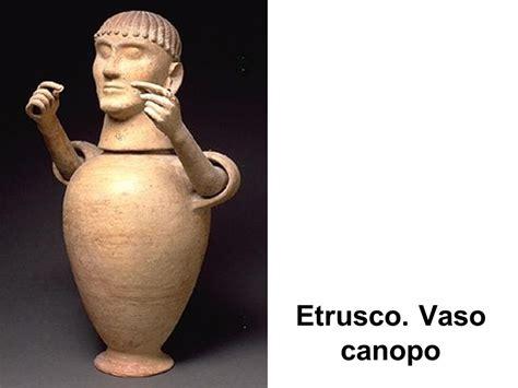 vaso canopo etrusco etruscos arte piedra se encuentra solamente en las obras