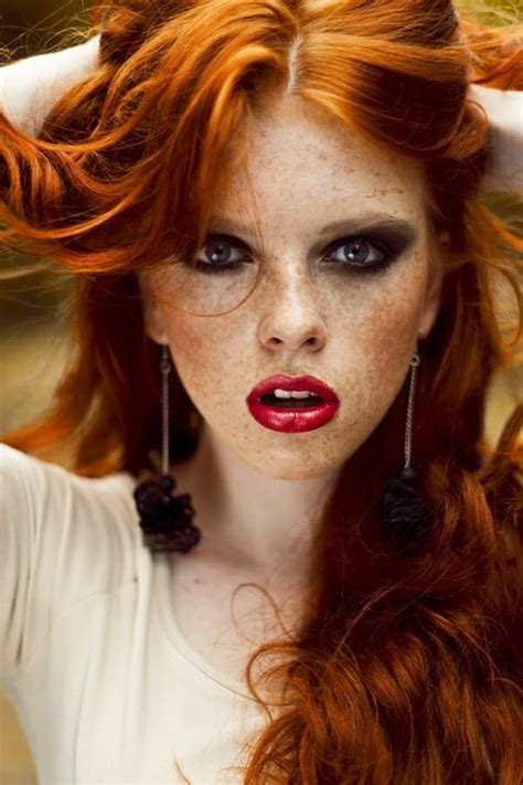 red headed woman freckles missk s world red hot friday night freckles