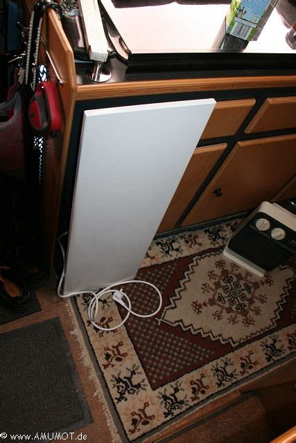 elektroheizung wohnmobil wohnwagen elektrisch heizen - Infrarotheizung Wohnwagen