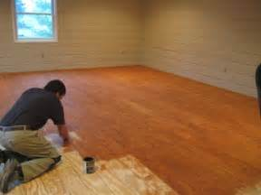 Inexpensive Flooring Ideas Diy Plank Flooring On The Cheap With Quarry Orchard Somewhat Simple