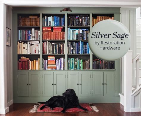 silver by restoration hardware is our paint color