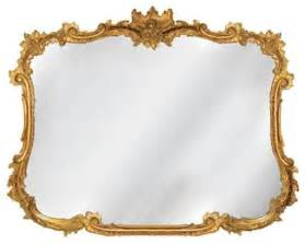Antique gold buffet mirror traditional wall mirrors by bellacor