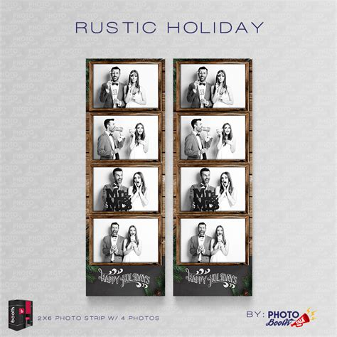 rustic holiday for darkroom booth photo booth talk