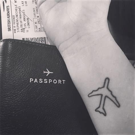 tattoo wrist airplane 80 cool airplane tattoos