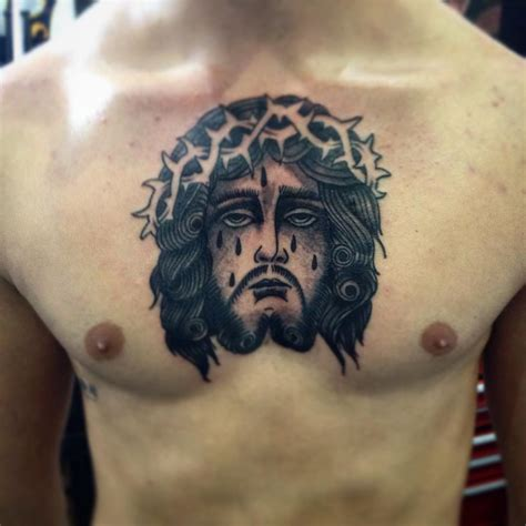 does jesus have a tattoo 55 best jesus designs meanings find