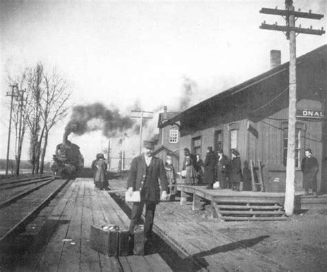 hometown history onalaska railroad depot circa 1900