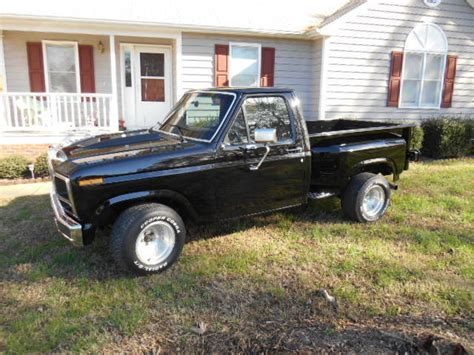 ford 1980 truck classic ford shortbed truck 1980 stepside with flat tops