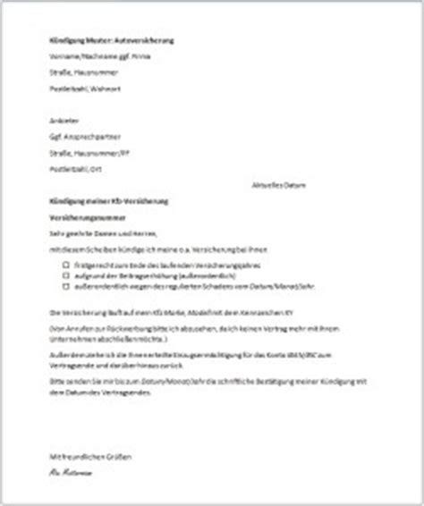 Kfz Versicherung K Ndigen Wann by Kfz Versicherungswechsel Und K 252 Ndigungsrecht