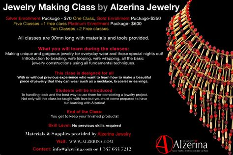 pattern making classes nyc where to take jewelry classes in nyc
