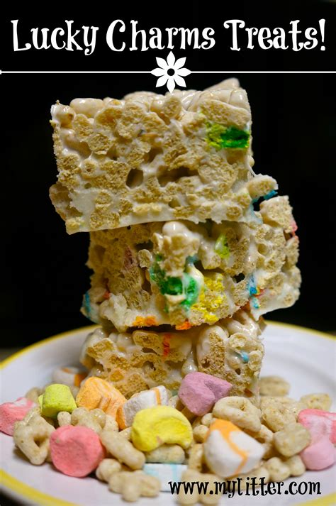 lucky charms treats recipe for st s day