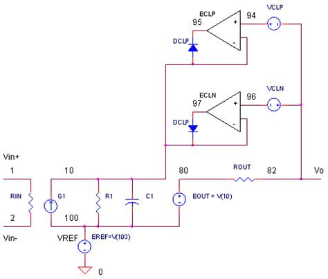 current limiting diode spice model 28 images v limit servo simple transistor and diode