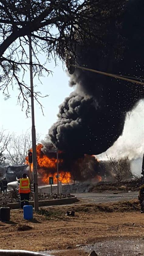 intelligence bureau sa explosions at waltloo depot petrol tanker on