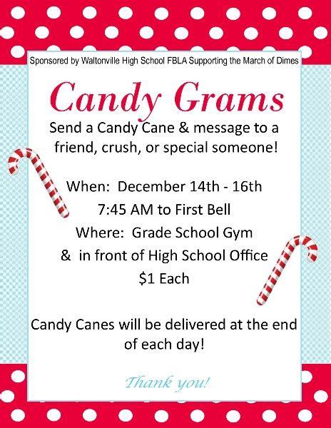 wcusd candy gram sales dec   sponsored   whs