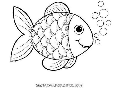fish coloring page with scales preschool rainbow fish coloring sheet to print for free