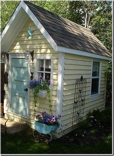 Yellow Shed Paint by 1000 Images About Sheds On Gardens Sweet