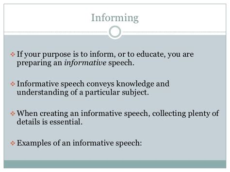 Purpose Of Battle Speeches 2 by Speech