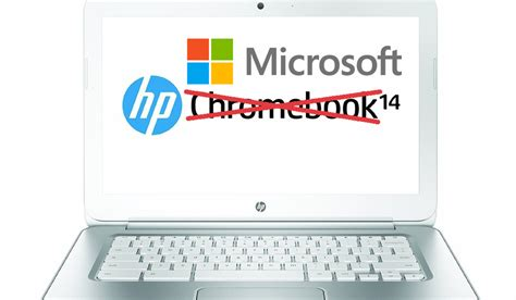 Microsoft Hp microsoft looks to take on chromebooks starting with hp
