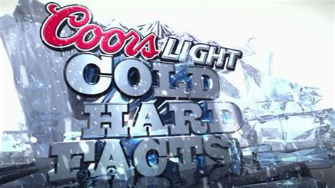 Coors Light Cold Facts Gif Edish Tradition