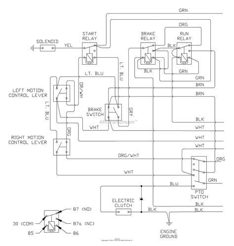 husqvarna lz  tkoa    parts diagram  wiring diagram part
