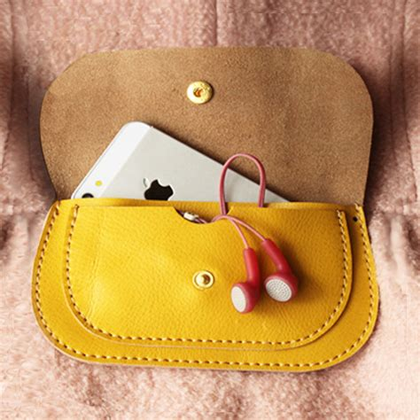 Handmade Womens Leather Wallets - handmade leather wallet in yellow wallet